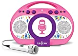 Singing Machine iSM398PP Karaoke Machine rosa/lila