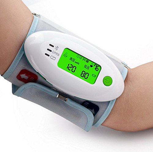 AIMS@ Upper Arm Typ Automatik USB Elektronische Blutdruckmessgerät Haushalt Intelligente LCD Voice Herz Blutdruck Messgeräte Genauigkeit Medizinische Portable Wiederaufladbare Blutdruckmessgerät