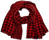 CODELLO Damen Schal 72096807, Rot (Red 1), One size (Herstellergröße: 75X180 cm)