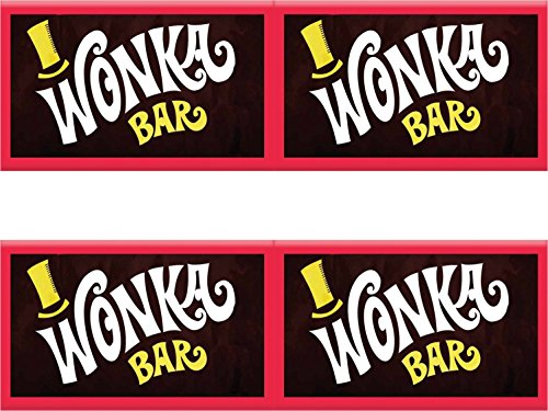 hocolate bars with golden tickets x50 (Willy Wonka Chocolate Bar)