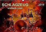 Schlagzeug - einfach cool (Wandkalender 2019 DIN A3 quer): Schlagzeug, das Instrument, dass nicht nur den Musiker, sondern während eines Konzertes ... (Monatskalender, 14 Seiten ) (CALVENDO Kunst)