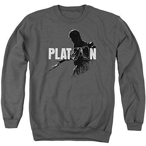 Platoon -  Felpa  - Uomo Charcoal