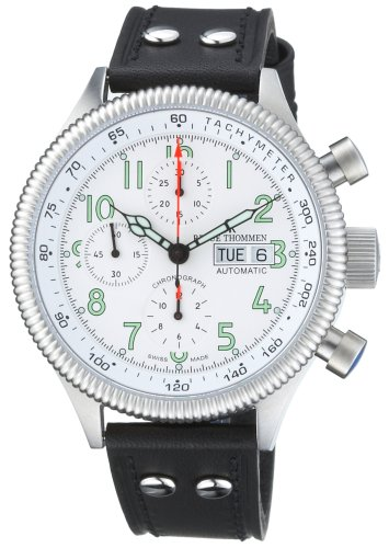 Revue Thommen Men's Automatic Watch 17060.6533 with Leather Strap