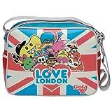 Gola Redford Tado - Retro Messenger Bag - London Love College Sports Bag