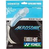 Yonex Aerosonic Microfiber Badminton String, 0.61mm (White)