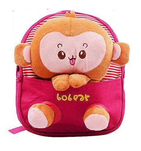 Scheppend Staccabile Bambola Del Fumetto Zaino per bambini,1-3 anni (Scimmia2)