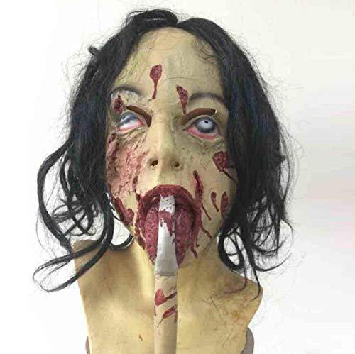 Halloween Einzigartige Kostüm - HAOBAO Einzigartige Halloween Maske Neuheit Latex Gummi Gruselige Horror Faultier Kopf Masken Gesicht Frightful Nightmare für Halloween Kostüm Party Dekoration Zubehör