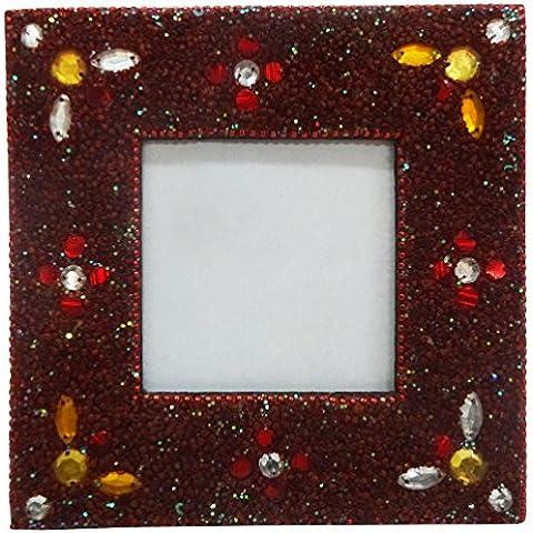 Foto antigua de la tabla de marco superior de estilo vintage marco de imagen en casa decoración moldeada hecha a mano material del marco de imagen