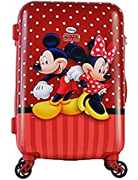 GAMME Disney Mickey Miniee Polycarbonate 55 cms Red Hardsided Cabin Luggage (GD16RGT017)
