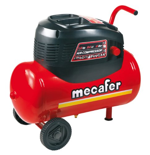 Mercure 425068 Compressore 24 L 1,5 hp olio