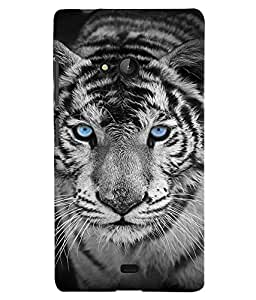 GADGET LOOKS PRINTED BACK COVER FOR Nokia Lumia 540 MULTICOLOR