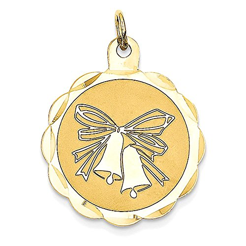 14K Wedding Bells Charm - Wedding Bells Charm