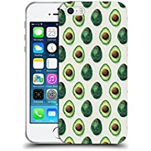 Official Tracie Andrews Avocados Patterns 2 Soft Gel Case for Apple iPhone 5 / 5s / SE