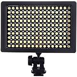 Andoer 160 LED la lumière Vidéo Panneau lampe 9.6W obscurci pour Canon Nikon Pentax DSLR Caméscope