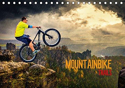 Mountainbike Trails (Tischkalender 2018 DIN A5 quer): Mountainbike Action durch Fantasiewelten (Monatskalender, 14 Seiten ) (CALVENDO Sport) [Kalender] [Apr 04, 2017] Meutzner, Dirk
