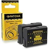 2x Batterie EN-EL14 pour Nikon D3100 | D3200 | D5100 | D5200 | P7000 | P7100 | P7700