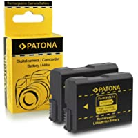2x Batteria EN-EL14 per Nikon D3100 | D3200 | D5100 | D5200 | P7000 | P7100 | P7700