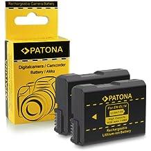 2x Batteria EN-EL14 per Nikon D3100   D3200   D5100   D5200   P7000   P7100   P7700