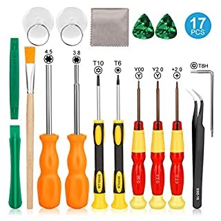 Nintendo Triwing Screwdriver, Keten Professional Full Triwing Screwdriver Repair Kit for Nintendo Switch and Nintendo SNES / Wii / DS / DS Lite / GBA and more, Security Screw Driver Game Bit Set