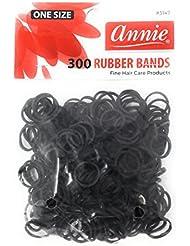 Annie Petits Elastiques Noirs Pour Cheveux