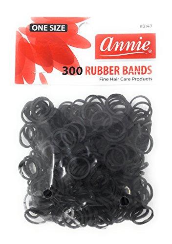 Haargummis für Dreadlocks, 300 Stück