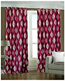 Kanha 4 Piece Polyester Abstract Window ...