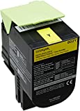 Lexmark 80C20Y0 Return Program Toner Cartridge, gelb