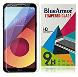 #6: BlueArmor LG Q6 Tempered Glass [ For 10th August 2017 New Release LG Q6 Mobile Phone ] Screen Guard Protector - Clear