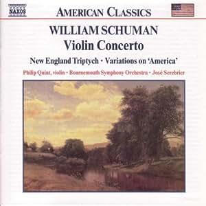 William Schuman: Violin Concerto