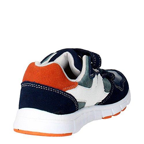 GRÜNLAND RUNN SC1769 anthrazit baby shoes Sneakers reißen Blau