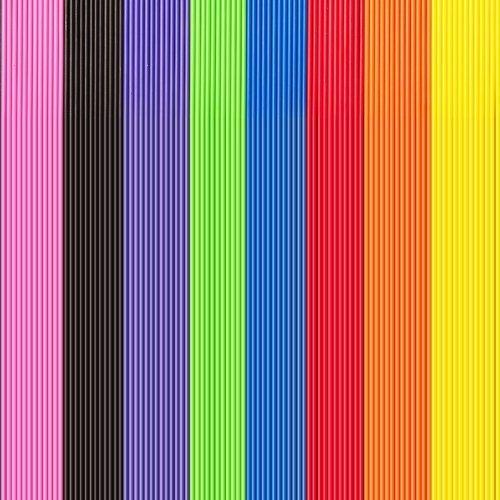 Regenbogen-Farben Plastik lutscherstäbchen Kuchen Pop Stäbe Menge Großhandel von loypack ()