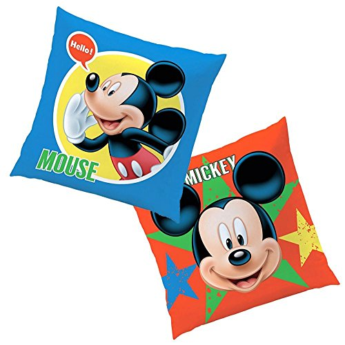 Expressions | Almohada 40x40 cm | Disney Mickey Mouse | Niños Cojín Decoracion