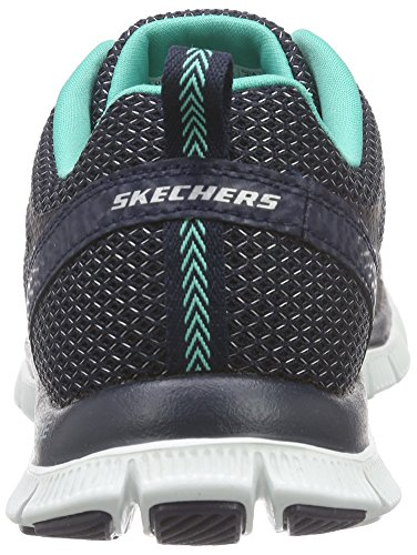 Skechers  Flex AppealArctic Chill, Sneakers Basses femme Bleu - Bleu (NVAQ)
