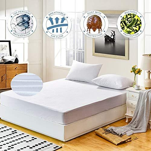hter Matratzenbezug, Bettbezug, Anti-Milbe, großes Bett, atmungsaktiv, hypoallergen 140X190 / 140X200Cm ()