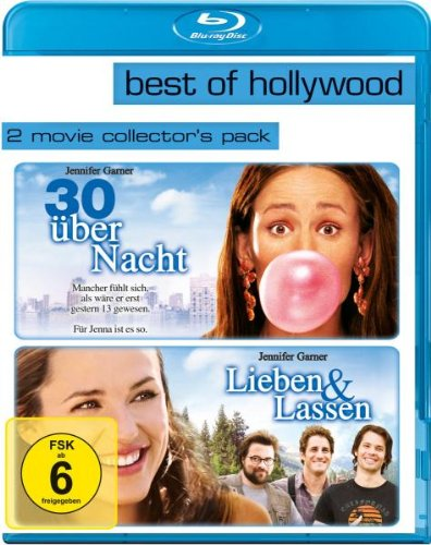30 über Nacht/Lieben und lassen - Best of Hollywood/2 Movie Collector's Pack [Blu-ray]