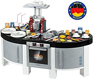 Theo Klein-9291 Bosch Cocina Vision Con 47 Accesorios, Juguete, multicolor, 2+ (Klein 9291)