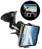 #10: Voltac ™ Windshield Mount Stand Car Home Desk Cradle A/C Holder Suction for Mobile Phone Single. Model 422263