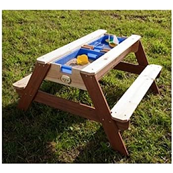 Table de jeux en bois - Pique Nique Eau Sable Nick