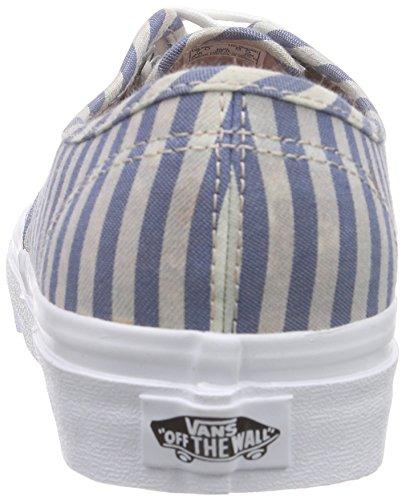 Vans Authentic, Sneakers Mixte Adulte Multicolore (Stripes/Navy)