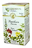 Celebration Herbals - Organic Caffeine Free Hawthorn Berries Herbal Tea - 24 Tea Bags (38g)All the herbs in Celebration Herbals Organic Caffeine Free Hawthorn Berries Herbal Tea are organically grown and prepared, ensuring their natural taste and act...