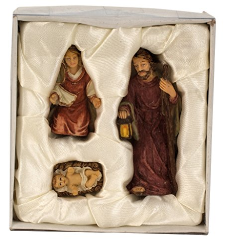 Krippenfiguren 3-teiliges Set Krippe Figuren bis 8,7 cm