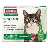 Beaphar protezione naturale gatto (3 pipette) - Antiparassitario soluzione spot-on per gatti e gattini a protezione naturale (gatto)