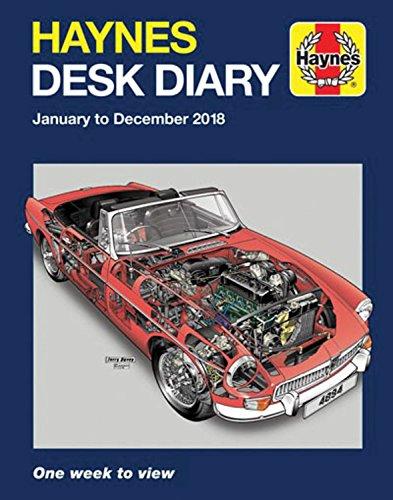 Haynes 2018 Desk Diary (Haynes Manuals)