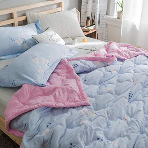 HUILIN Print Bedspread Summer Quilt Blanket Comforter Bed Cover Quilting Home Textiles Suitable for Children Adult 180 * 200cm200 * 230,Gray,one Piece,180cmX200cm