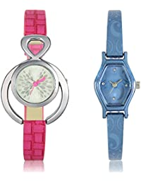 PRATHAM SHOP Brand New 3D Design Combo Watch (GL205-GL218) For Girls And Women