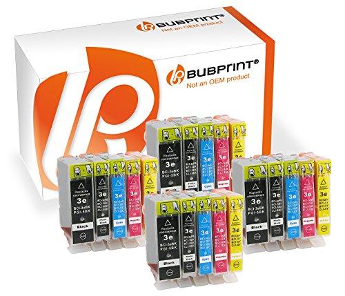 Preisvergleich Produktbild Bubprint 20 Druckerpatronen kompatibel für Canon BCI-3 BCI-6 BCI3 BCI6 SET