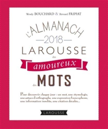 L'almanach des amoureux des mots