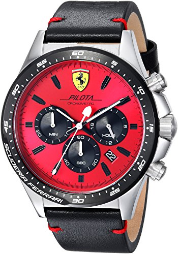 ferrari-mens-pilota-quartz-stainless-steel-and-leather-casual-watch-colorblack-model-0830387