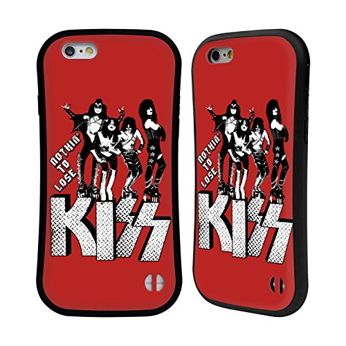 Ufficiale KISS I Was Made For Lovin You Sottotitoli Case Ibrida per Apple iPhone 6 / 6s Nothin To Lose