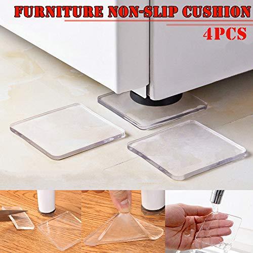 MS-Y 8 NO29 - Cuscinetti Antiscivolo per sedie e frigoriferi, 16 Pezzi